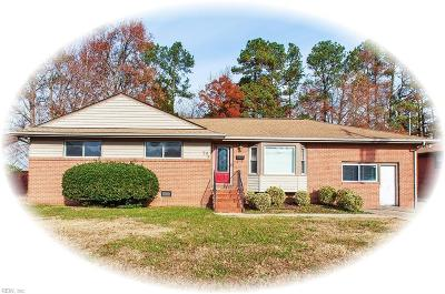 Newport News Single Family Home New Listing: 74 Rexford Dr