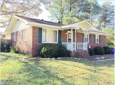 Portsmouth Single Family Home New Listing: 4052 Wyndybrow Dr