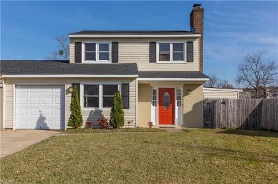 Virginia Beach VA Single Family Home New Listing: $219,900