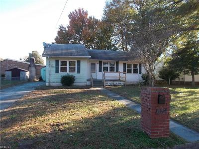 Portsmouth Single Family Home New Listing: 903 Freedom Ave