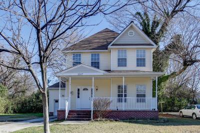 Portsmouth Single Family Home New Listing: 1307 Elm Ave