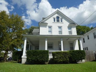 Chesapeake Single Family Home New Listing: 1303 Holly Ave Ave