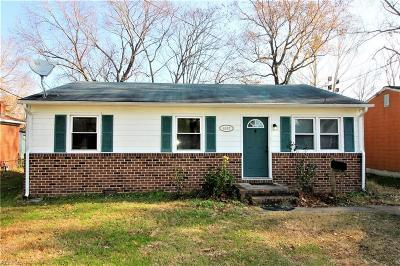 Chesapeake Single Family Home New Listing: 4157 2nd St