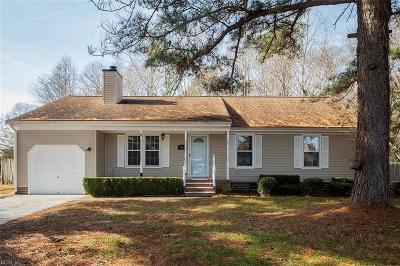 Chesapeake Single Family Home New Listing: 3405 Wisecamp Ct