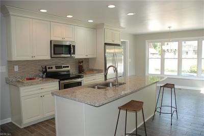 Virginia Beach Single Family Home New Listing: 1216 Heathcliff Dr