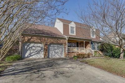 Virginia Beach Single Family Home New Listing: 1061 Backwoods Rd