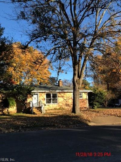 Hampton Single Family Home New Listing: 700 Arlington Ter