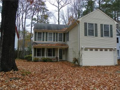 Virginia Beach VA Single Family Home New Listing: $274,900