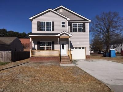 Portsmouth Single Family Home New Listing: 3802 County St