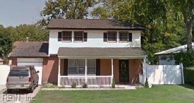 Hampton Single Family Home New Listing: 3304 W Lewis Rd