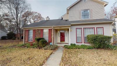 Newport News Single Family Home New Listing: 2280 Kings Creek Ln