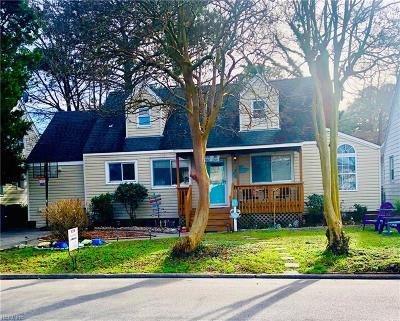 Norfolk Single Family Home New Listing: 111 Burleigh Ave