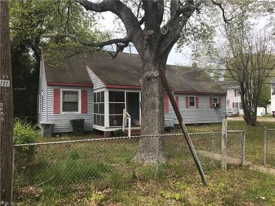 Hampton Single Family Home New Listing: 523 Homestead Ave
