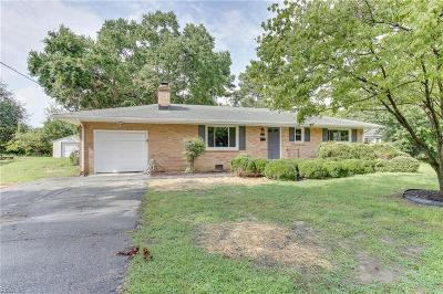 Newport News Single Family Home New Listing: 241 Eastwood Dr