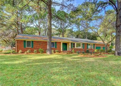 Portsmouth Single Family Home New Listing: 2916 Replica Ln