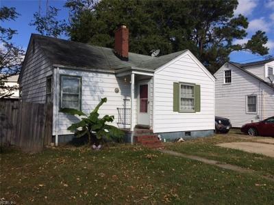 Norfolk Single Family Home New Listing: 5763 Chesapeake Blvd