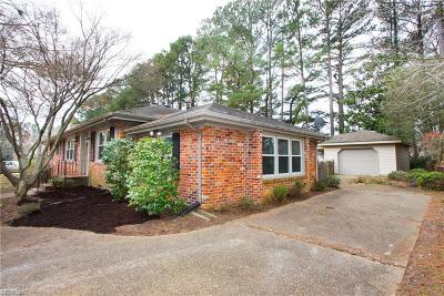 Portsmouth Single Family Home New Listing: 3512 Shelton Rd