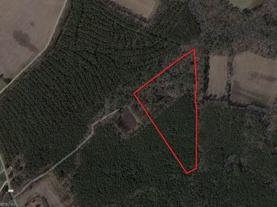 Northampton County, Accomack County Land/Farm Under Contract: 23ac Bayside Rd
