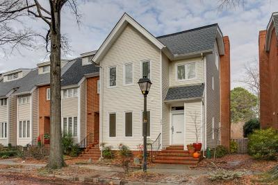 Norfolk Single Family Home New Listing: 340 Westover Ave