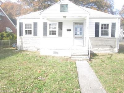 Portsmouth Single Family Home New Listing: 101 Decatur St