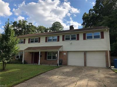 Virginia Beach Single Family Home New Listing: 3617 Sea Gull Rd