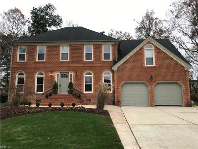 Chesapeake VA Single Family Home New Listing: $439,900