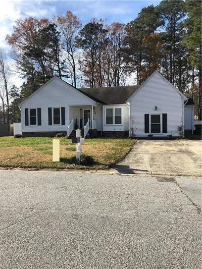 Suffolk Single Family Home New Listing: 809 Haskins Dr