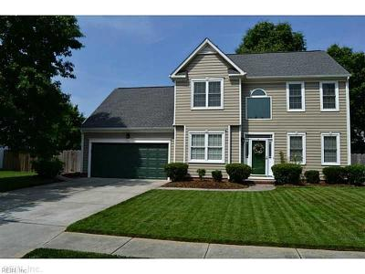 Virginia Beach Single Family Home New Listing: 3204 Nansemond Loop