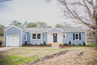 Hampton Single Family Home New Listing: 311 Harris Creek Rd
