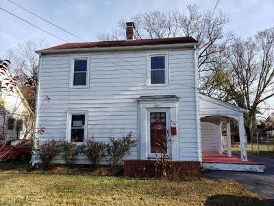 Hampton Single Family Home New Listing: 434 England Ave