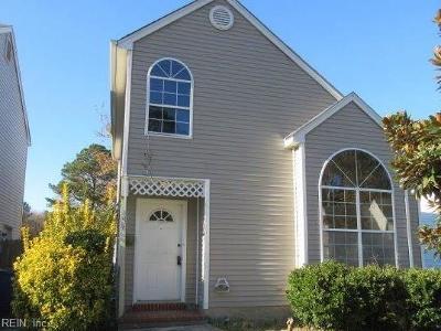 Newport News Single Family Home New Listing: 459 Charter Oak Dr