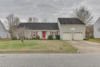 Chesapeake Single Family Home New Listing: 925 Arcadia Rd