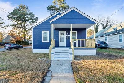 Norfolk Single Family Home New Listing: 5923 Chesapeake Blvd