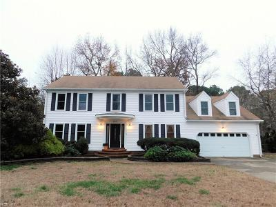 Virginia Beach Single Family Home New Listing: 817 Veronica Dr