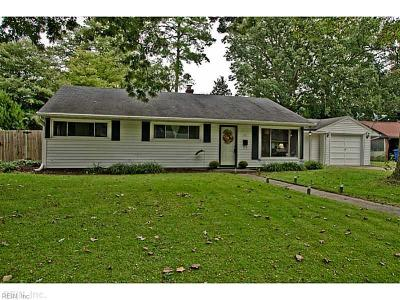 Newport News Single Family Home New Listing: 73 Concord Cres