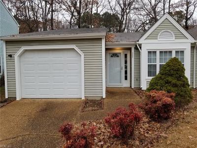 Newport News Single Family Home New Listing: 227 Seasons Trl