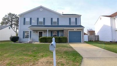 Newport News Single Family Home New Listing: 904 Doewood Ln