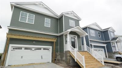 Norfolk Single Family Home New Listing: 1550 Lea View Ave