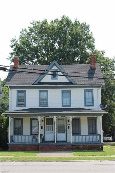 Portsmouth Multi Family Home For Sale: 425 Constitution Ave