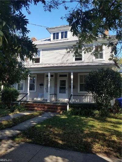 Portsmouth Multi Family Home For Sale: 639 Mt Vernon Ave