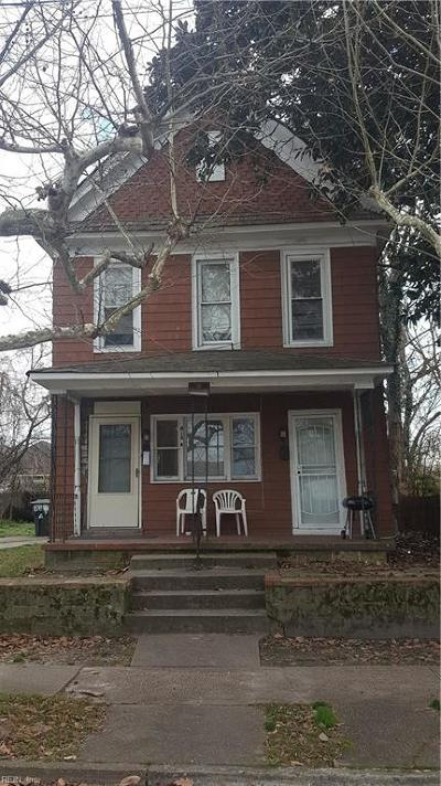 Newport News Multi Family Home For Sale: 818 30th St