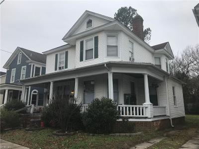 Suffolk Multi Family Home For Sale: 113 Saint James Ave