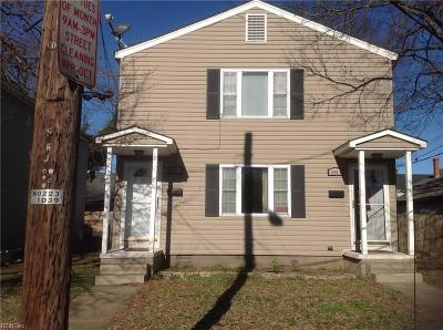 Newport News Multi Family Home For Sale: 1255 21st St