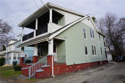 Norfolk VA Multi Family Home For Sale: $100,000