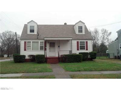 Norfolk VA Multi Family Home For Sale: $169,900