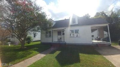Norfolk VA Multi Family Home For Sale: $159,900