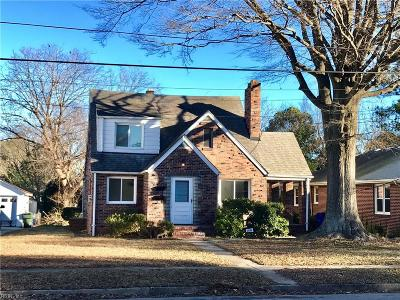 Norfolk VA Multi Family Home New Listing: $199,900