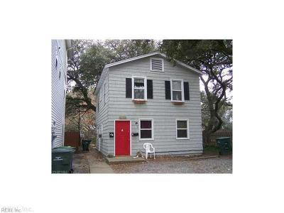 Norfolk VA Multi Family Home New Listing: $75,000