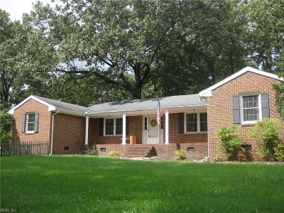 Chesapeake Multi Family Home For Sale: 826 Shell Road