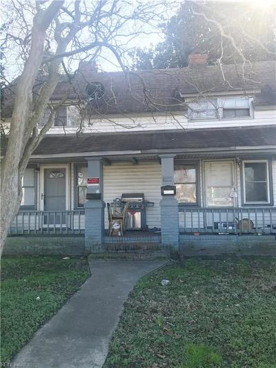 Portsmouth Multi Family Home New Listing: 2211 Portsmouth Blvd